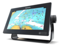 "Raymarine Axiom 7 DV, 7"" Multifunction Display z DownVision, 600W Sonar s CPT-S sondo in z Navionics+ Small karto za prenos"